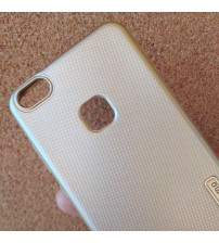 Калъф за Huawei P10 Lite силиконов гръб златен