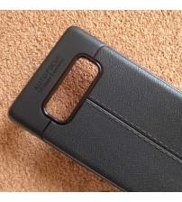 Калъф за Samsung Note 8 N950 силиконов гръб черен Lux