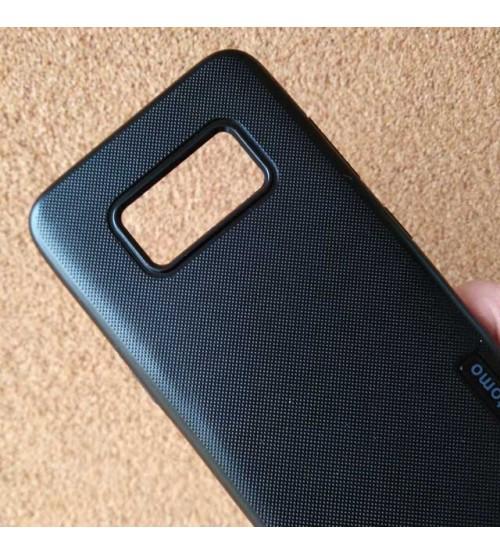 Силиконов калъф за Samsung S8 G950 гръб черен Grid
