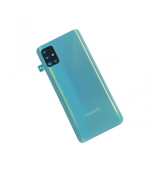 Заден капак за Samsung A51 A515F син