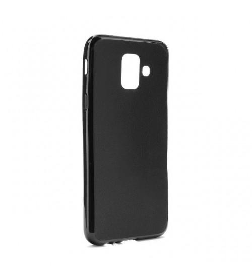 Калъф за Samsung A6 2018 A600F силиконов гръб черен