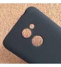 Силиконов калъф за Alcatel A3 5046D черен гръб Lux
