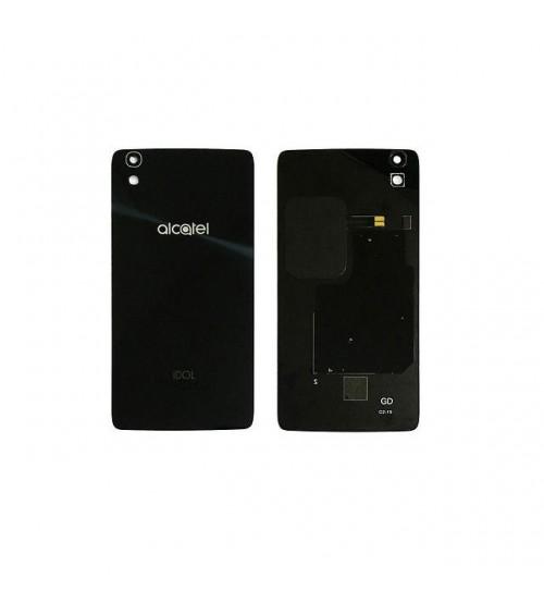 Заден капак за Alcatel One Touch Idol 4 6055 черен
