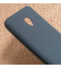 Силиконов калъф за Alcatel U5 5044D черен гръб Lux