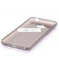 Калъф за Asus ZenFone Max ZC550KL прозрачен гръб smoked