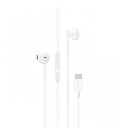 Слушалки за Huawei P20 / P30 Type-C CM33 бели