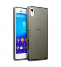 Силиконов калъф за Sony Xperia Z3 прозрачен гръб smoked