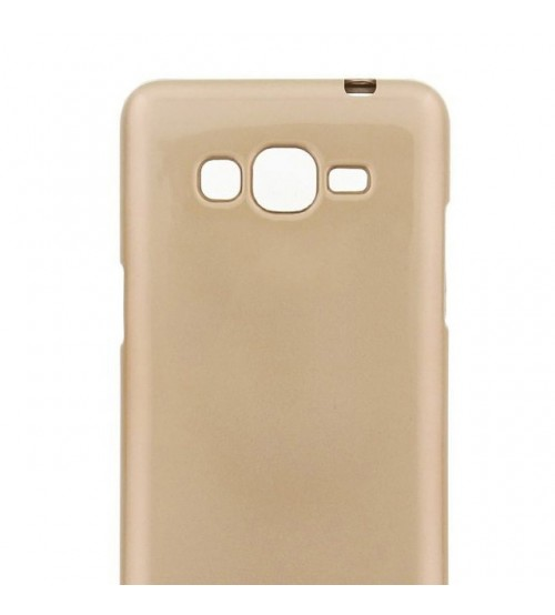Калъф за Samsung Grand Prime G530 гръб i-jelly златен
