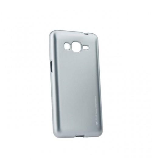 Калъф за Samsung Grand Prime G530 силиконов гръб сив