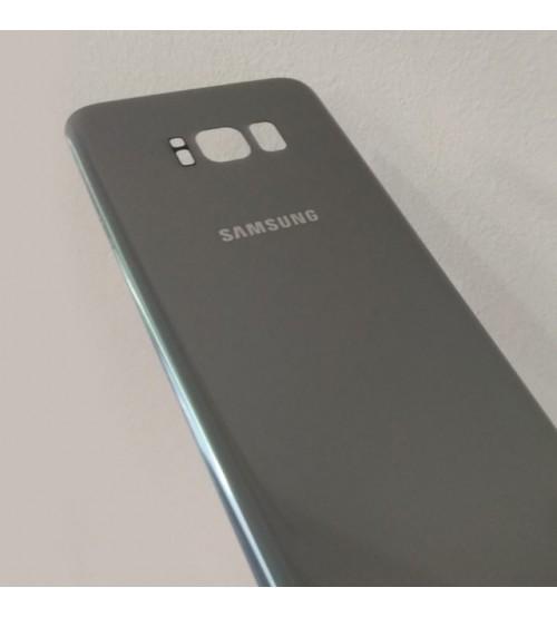 Заден капак за Samsung Galaxy S8 Plus G955 сребърен