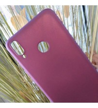 Калъф за Huawei Honor 8X силиконов гръб лилав