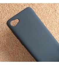 Силиконов калъф за HTC Desire 12 гръб черен Lux