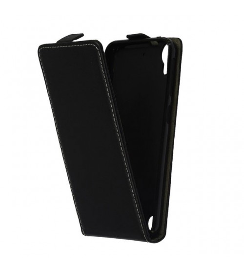 Калъф тефтер за HTC Desire 530 черен Flexi