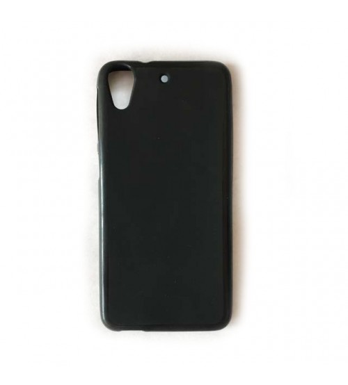 Калъф за HTC Desire 628 силиконов гръб черен мат