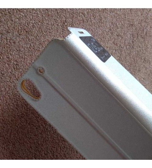 Калъф за HTC Desire 628 флип тефтер Book златен