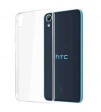 Силиконов калъф за HTC Desire 628 прозрачен гръб