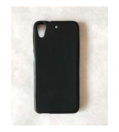 Силиконов калъф за HTC Desire 650 гръб черен мат