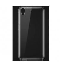 Силиконов калъф за HTC Desire 650 прозрачен гръб