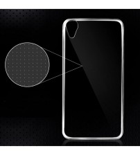 Силиконов калъф за HTC Desire 820 прозрачен гръб