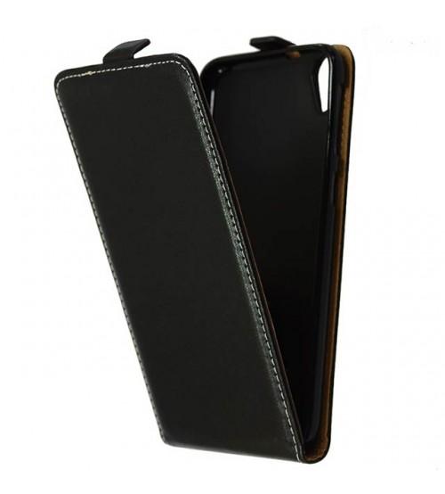 Калъф тефтер за HTC Desire 820 черен Flexi
