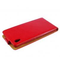 Калъф тефтер за HTC Desire 820 червен Flexi