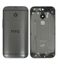 Заден капак за HTC One M8 черен графит