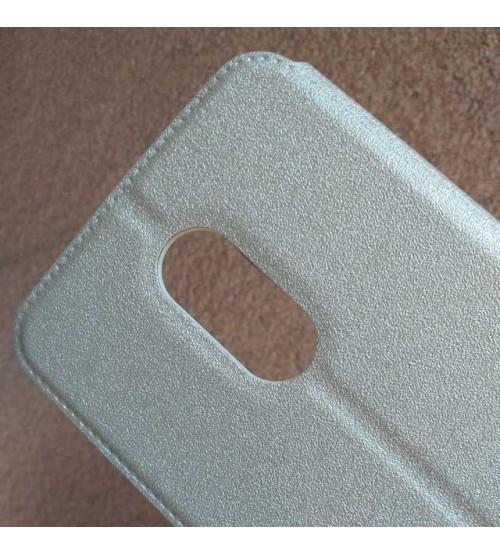 Калъф за Huawei Mate 10 Lite флип тефтер Book златен