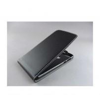 Калъф тефтер за Huawei Nova черен Flexi