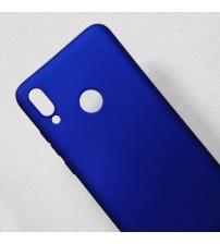 Силиконов калъф за Huawei P Smart 2019 гръб син Lux