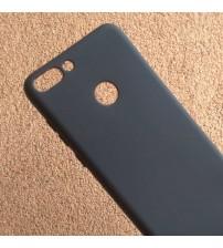 Силиконов калъф за Huawei P Smart гръб черен Lux