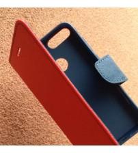 Калъф за Huawei P Smart флип тефтер Book червен