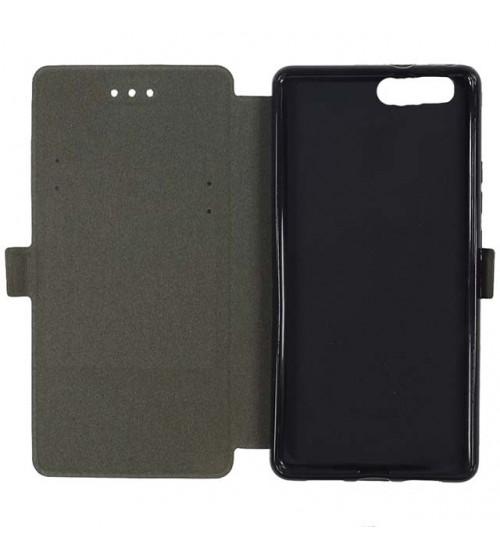 Калъф тефтер за Huawei P10 черен Book Pocket