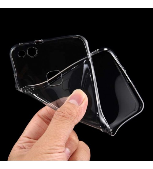 Калъф за Huawei P10 Lite силиконов гръб прозрачен