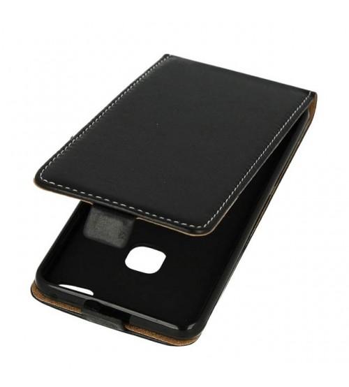 Калъф тефтер за Huawei P10 Lite черен Flexi
