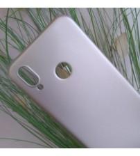 Силиконов калъф за Huawei P20 Lite гръб златен Lux
