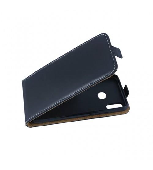 Калъф за Huawei P20 Lite флип тефтер черен Flexi