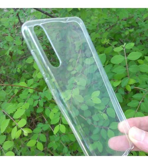 Калъф за Huawei P20 Pro силиконов гръб прозрачен