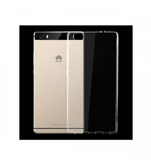 Калъф за Huawei P8 Lite силиконов гръб прозрачен