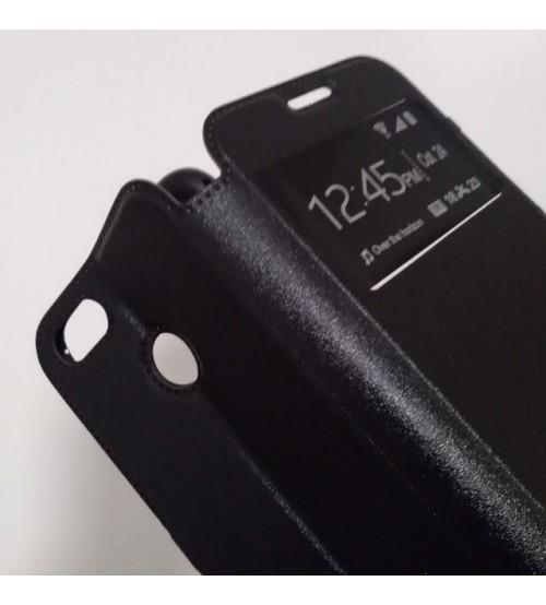 Калъф за Huawei P9 Lite Mini флип тефтер Book черен