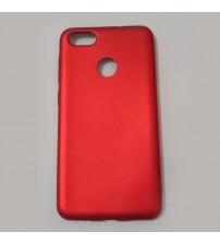 Калъф за Huawei P9 Lite Mini силиконов гръб червен Lux