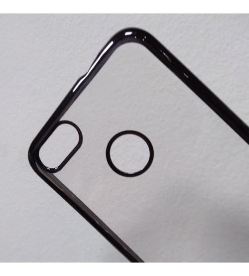 Калъф за Huawei P9 Lite Mini силиконов гръб Fashion графит