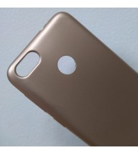 Калъф за Huawei P9 Lite Mini силиконов гръб златен Lux