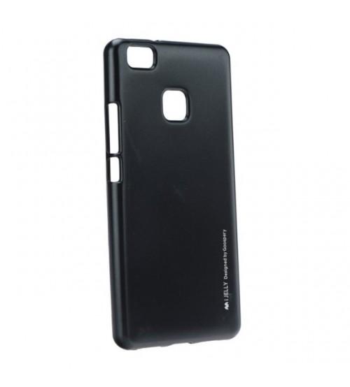 Калъф за Huawei P9 Lite силиконов гръб черен iJelly