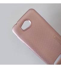 Калъф за Huawei Y3 II силиконов гръб розов Grid