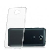 Калъф за Huawei Y6 II Compact силиконов гръб прозрачен