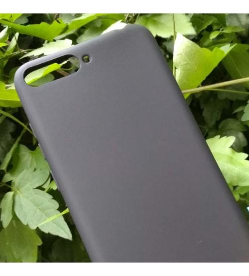 Калъф за Huawei Y6 2018 силиконов гръб черен Lux