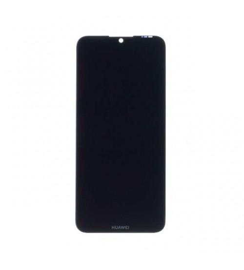 Дисплей с тъч скрийн и стъкло за Huawei Y6 2019 черен