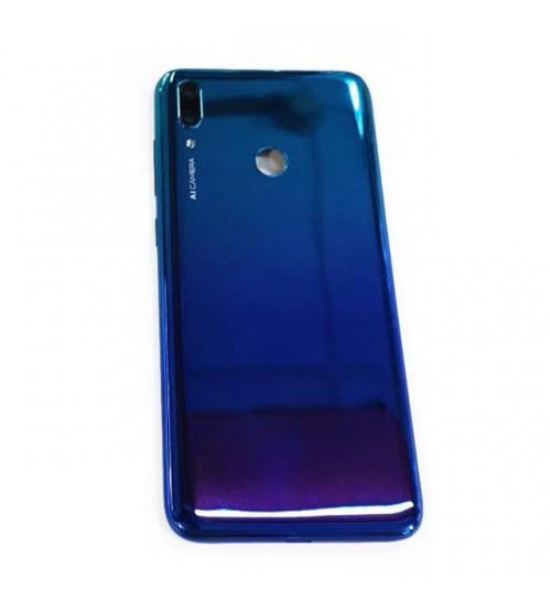 Заден капак за Huawei Y7 2019 син