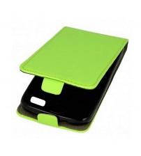 Калъф за iPhone 5s / 5 / SE флип тефтер зелен Flexi