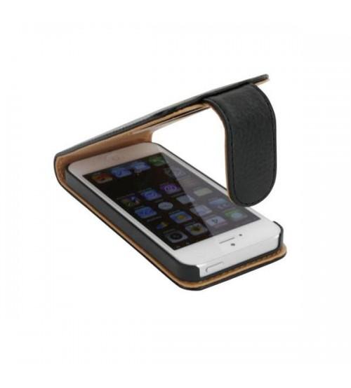 Калъф за Iphone 5s/5/SE флип тефтер черен